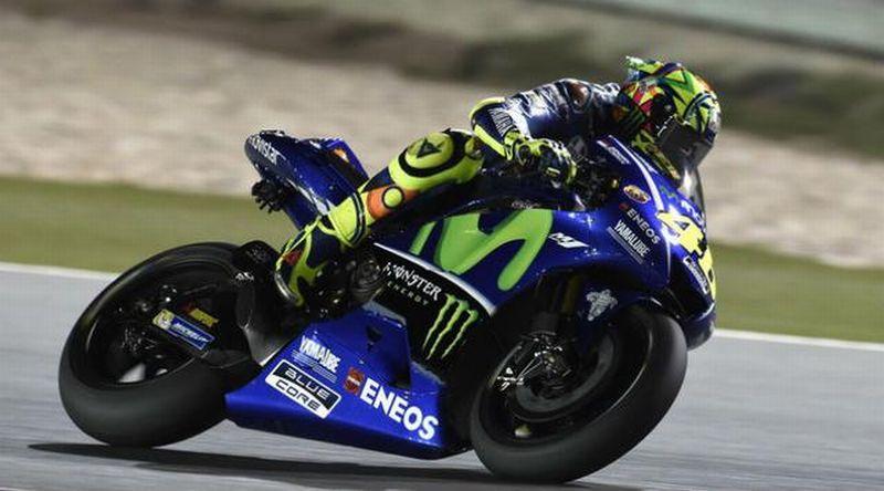 Pembalap Tim Movistar Yamaha, Valentino Rossi (Foto: AFP)