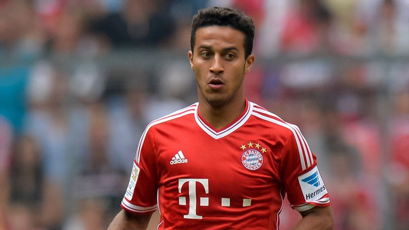 Pemain Bayern Munich, Thiago Alcantara (Foto: Sky Sports)