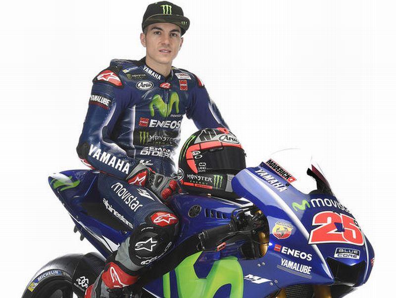 Pembalap Tim Movistar Yamaha, Maverick Vinales (Foto: Sport Rider)