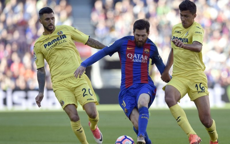 Barcelona vs Villarreal (Foto: AFP)