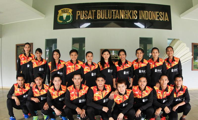 Skuad Indonesia di Piala Sudirman 2017 (Foto: PBSI)