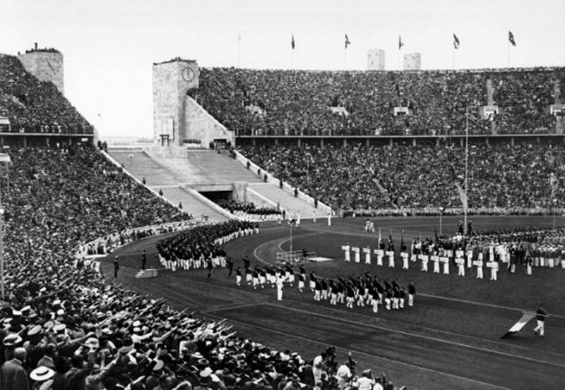 Pembukaan Olimpiade Jerman 1936 (Foto: AFP)