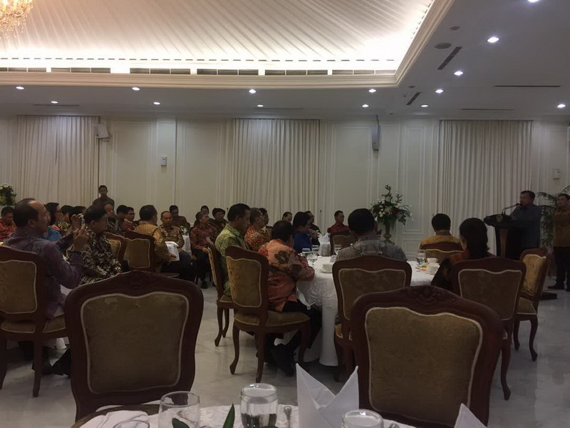 Wakil Presiden, Jusuf Kalla mengundang para ketua cabor Asian Games 2018