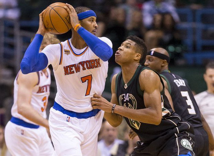 Carmelo Anthony (kiri) / (foto: Jeff Hanisch/USA Today Sports)