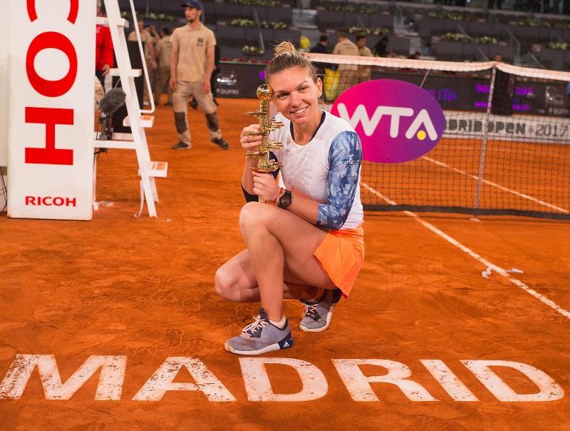 Simona Halep. (Foto: WTA Tennis)