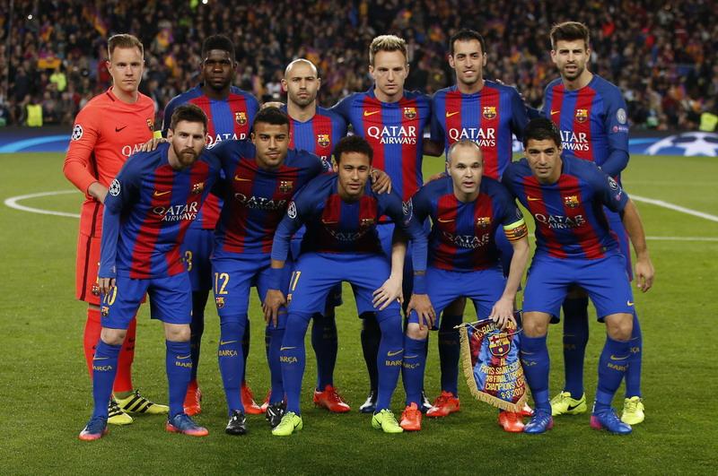 Barcelona masih di puncak klasemen Liga Spanyol. (Foto: REUTERS/Sergio Perez)