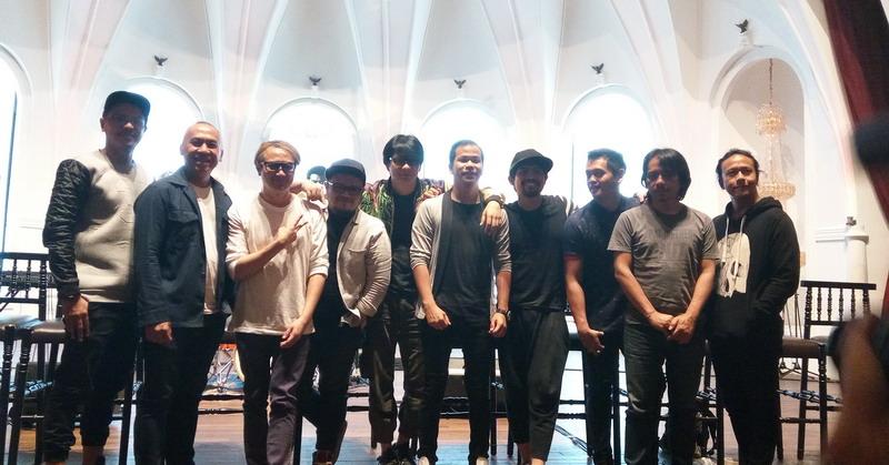 Band Gigi dan Nidji (Foto: Rima/Okezone)