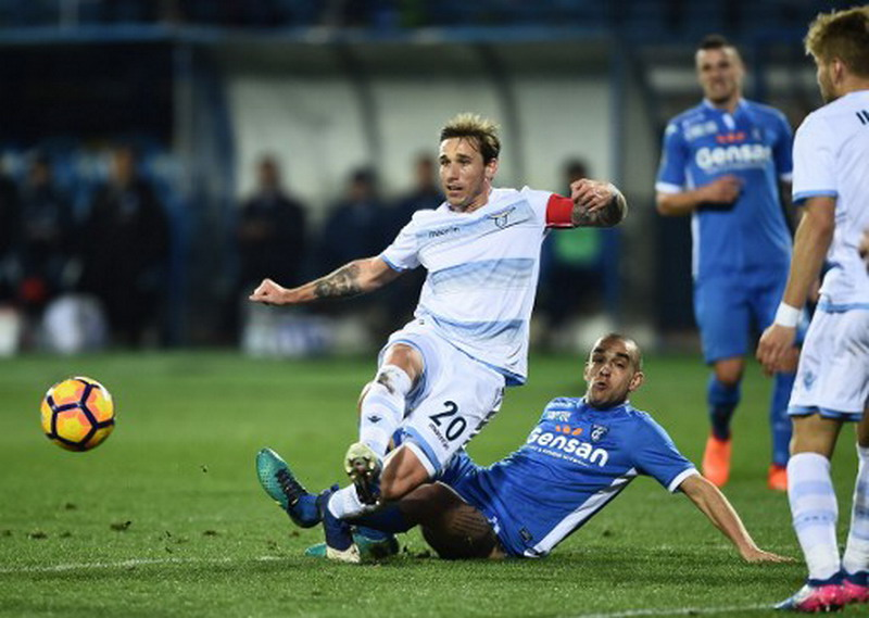 Biglia yakin bawa Lazio juara Coppa Italia. (Foto: AFP/Filippo Monteforte)