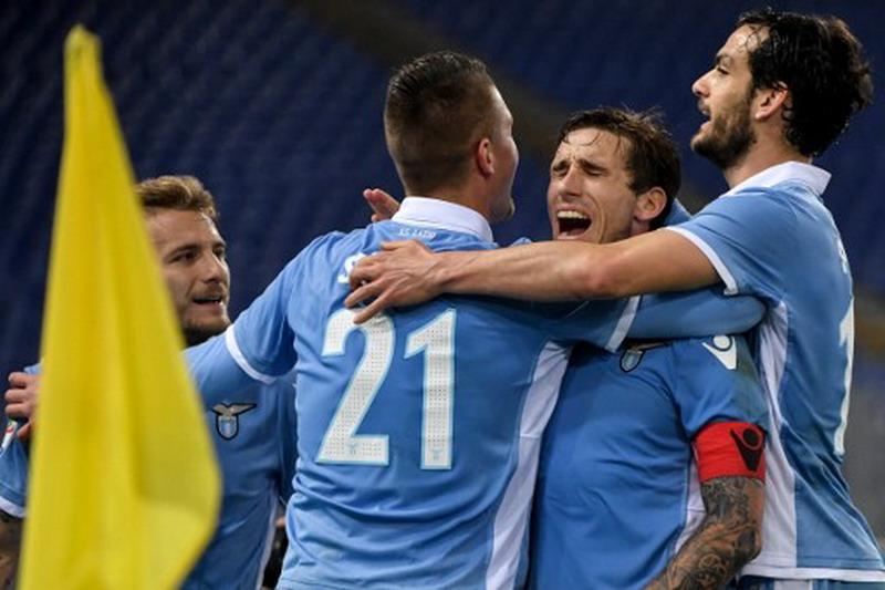 Lazio wajib bermain dengan hati sata bertemu dengan Juventus. (Foto: AFP/Andreas Solaro)