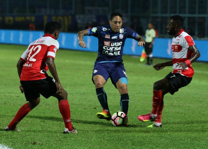 Arema FC. (Foto: Antara/ Ari Bowo Sucipto)