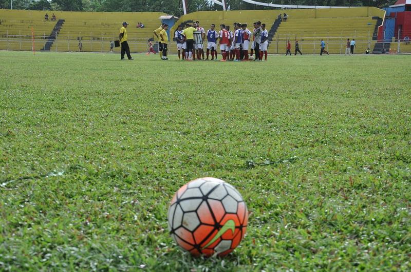 Suasana latihan Semen Padang. (Foto: Rus Akbar/Okezone)