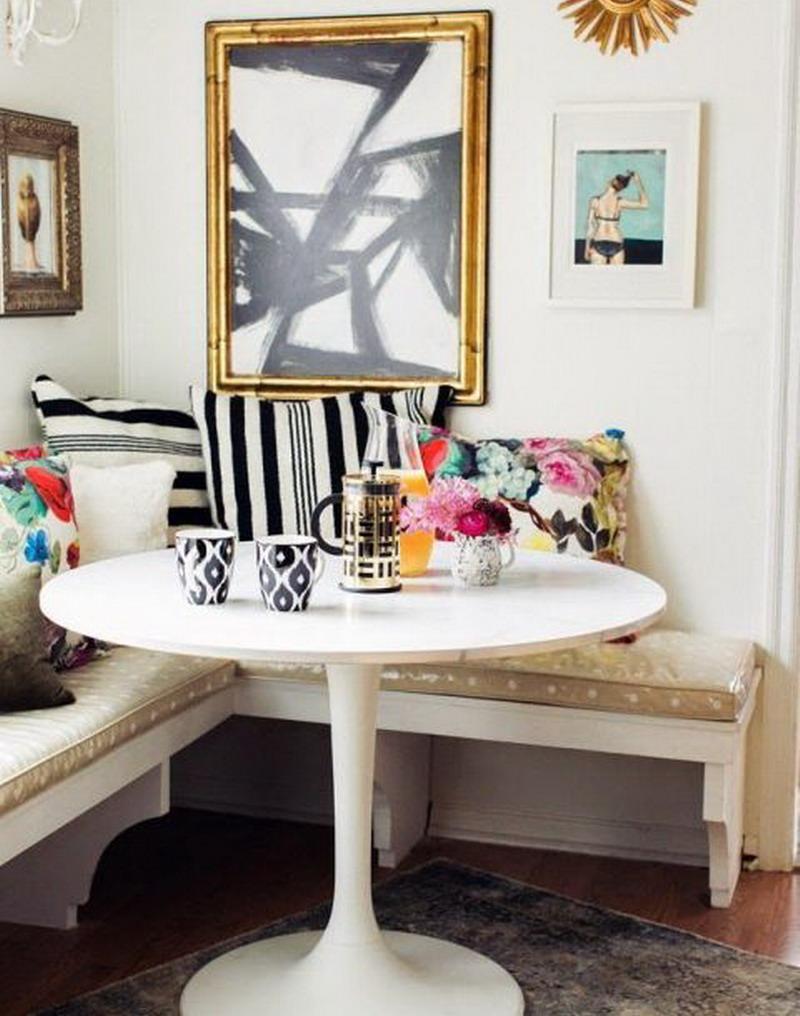 Kreasi Unik, Meja Bundar Bisa Jadi Solusi untuk Ruang Makan Kecil