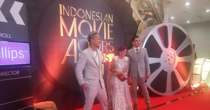 Red Carpet Indonesia Movie Actor Awards 2017 (Foto: Edy/Okezone)