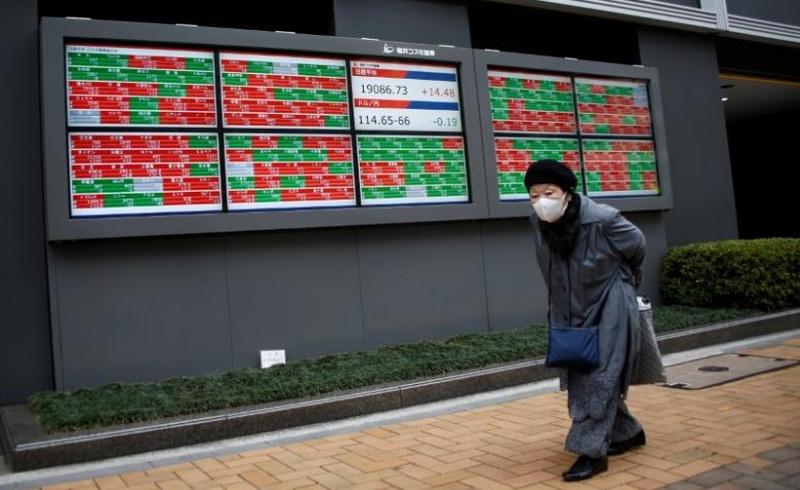 \Buntuti Wall Street, Pasar Saham Asia Dibuka Melemah   \