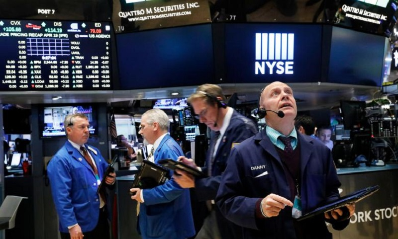 \Wall Street Berhasil Rebound Ditopang Data Ekonomi\