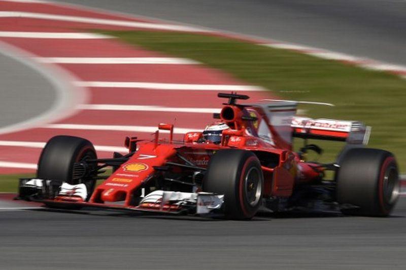 Kimi Raikkonen, Pembalap Ferrari (Foto: Lluis Gene / AFP)