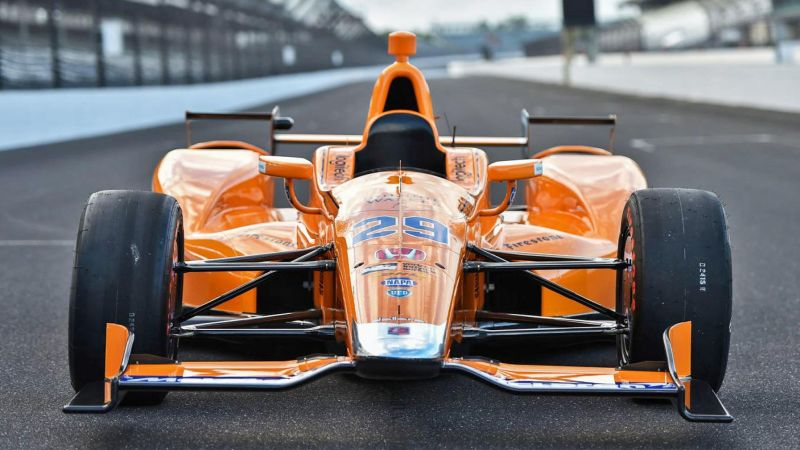 Mobil Balap Fernando Alonso untuk Ajang Balap Indy 500 (Foto: Top Gear)