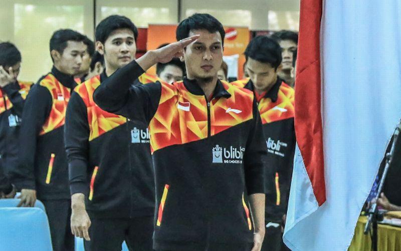 Mohammad Ahsan dan tim siap memberikan kemampuan terbaik di Piala Sudirman (Foto: PBSI)