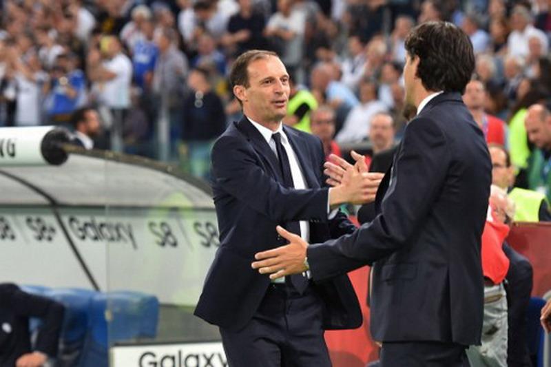 Allegri puji Lazio. (Foto: AFP/Andreas Solaro)
