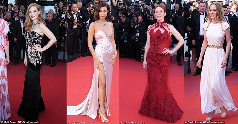 Penampilan Selebriti Hollywood di Pembukaan Festival Film Cannes ke-70