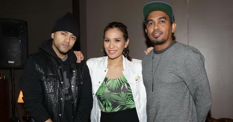DJ Tiara Eve, Glenn, dan Liquid Silva (Foto: Okezone)
