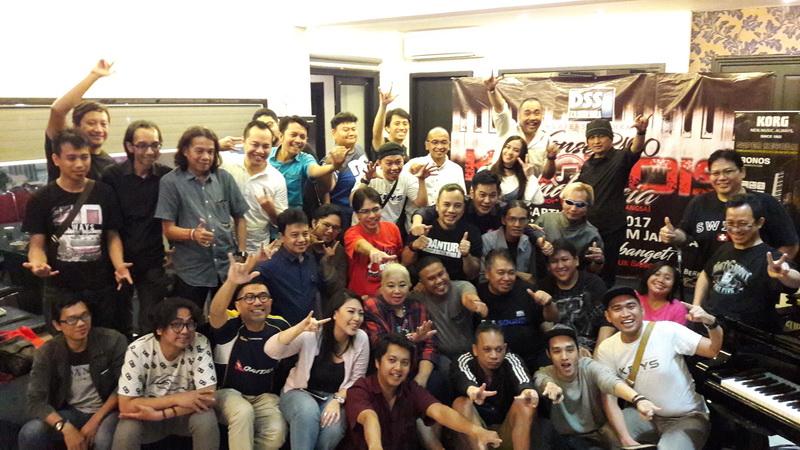 Pemain 100 Kibordis untuk Indonesia (Foto: Okezone)