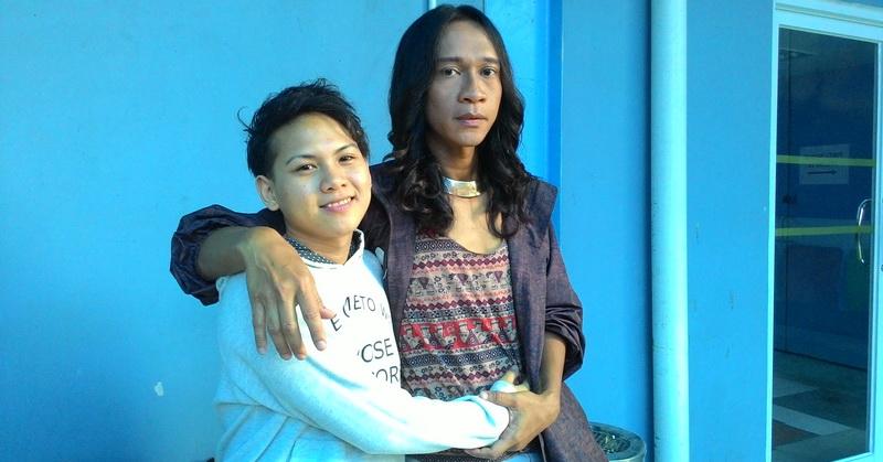 Aming dan Evelin (Foto: Okezone)
