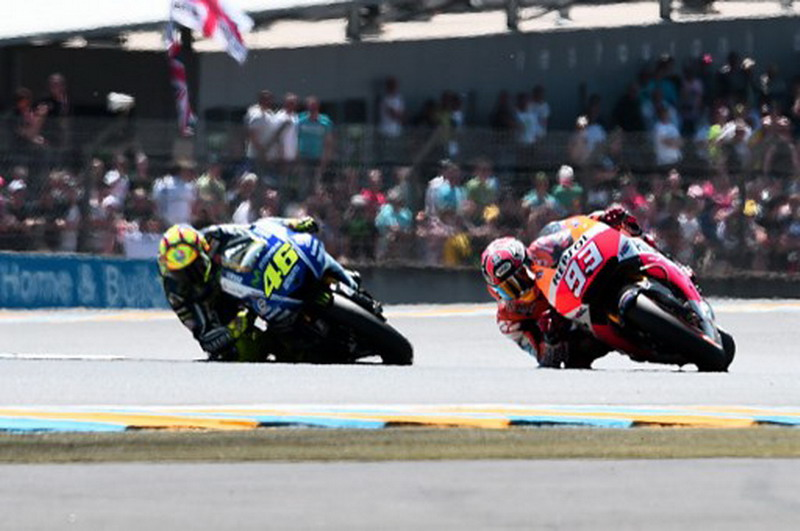 MotoGP di Sirkuit Le Mans, Prancis (Foto: Damien Meyer/AFP)