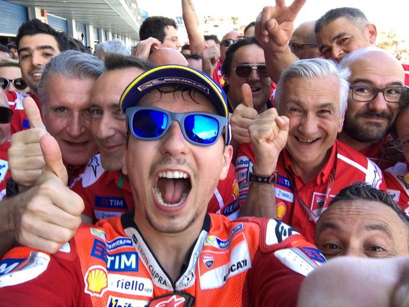 Jorge Lorenzo (Foto: Twitter Resmi @MotoGP)