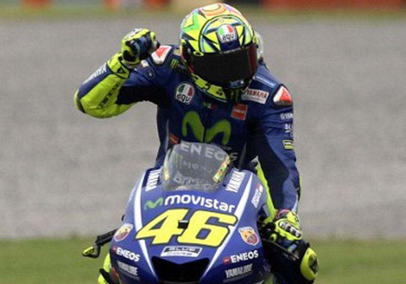 Valentino Rossi tak ingin sesumbar menghadapi GP Prancis (Foto: AFP)