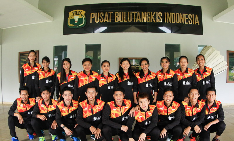 Tim Indonesia di Piala Sudirman 2017 (Foto: Laman resmi PBSI)