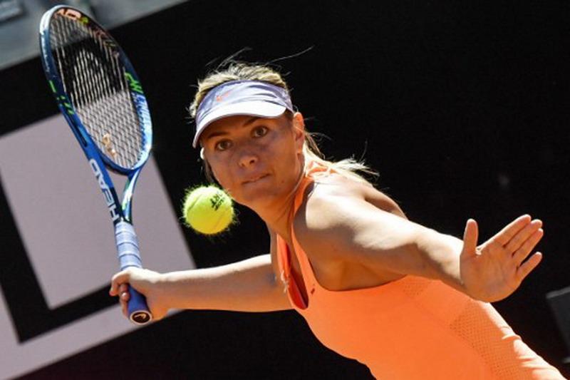 Maria Sharapova batal tampil di Prancis Open 2017 (Foto: Andreas Solaro/AFP)