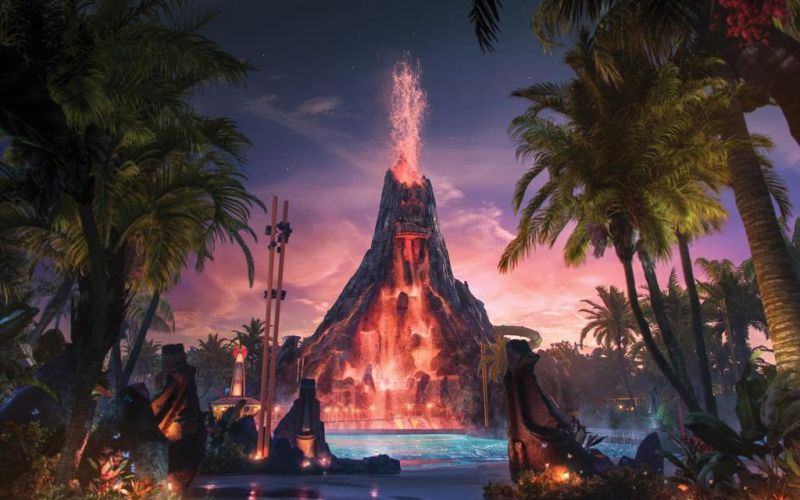 Universal Studio Orlando Buka Taman Bermain Volcano Bay