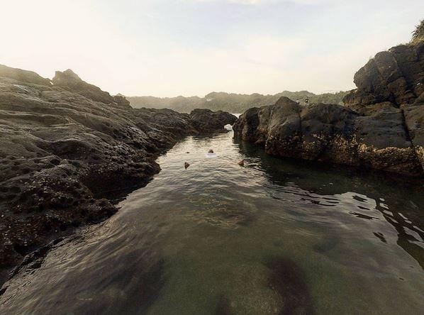 Cantiknya Kesunyian Pantai Wedi Ombo di Yogyakarta