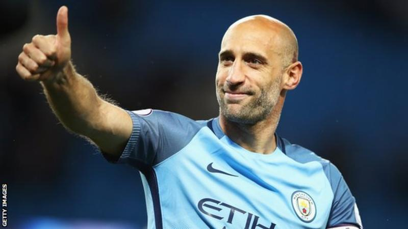 Pemain Manchester City, Pablo Zabaleta (Foto: Getty Images)