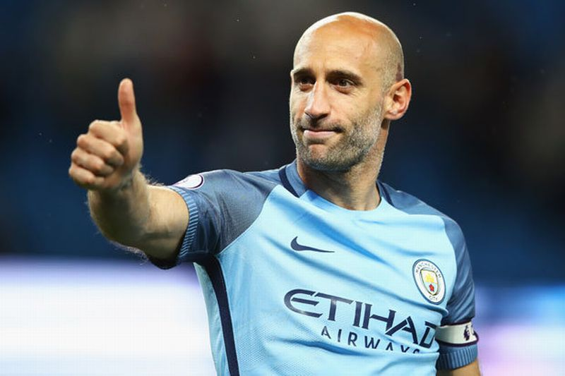 Pemain Manchester City, Pablo Zabaleta (Foto: Daily Star)