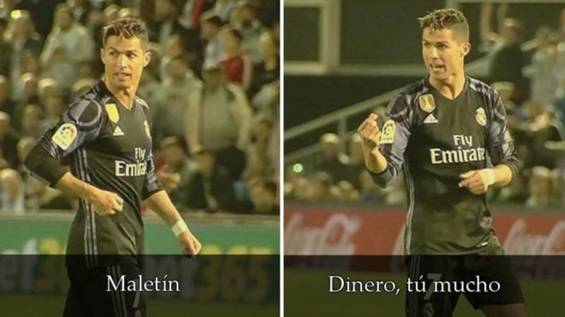 Ronaldo nilai pemain Celta Vigo disogok Barcelona. (Foto: Marca)