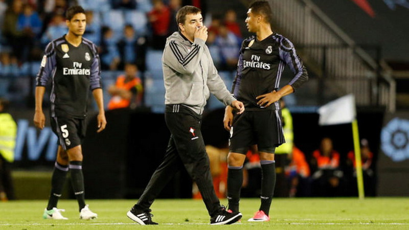 Marcucci klain Madrid dibantu wasit. (Foto: Marca)