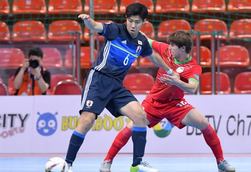 Jepang saat ditahan Tajikistan 5-5. (Foto: AFC.com)