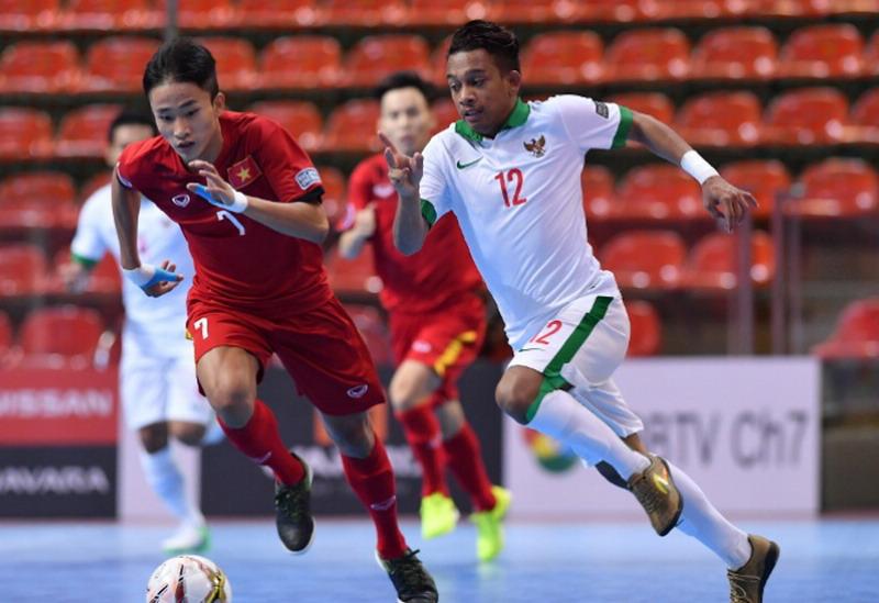 Indonesia saat bermain kontra Vietnam. (Foto: AFC.com)