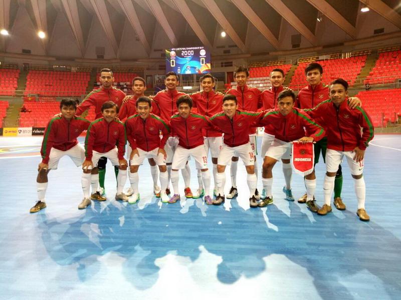 Timnas Futsal Indonesia U20 lolos ke perempatfinal. (Foto: Mas Ben/FFI)
