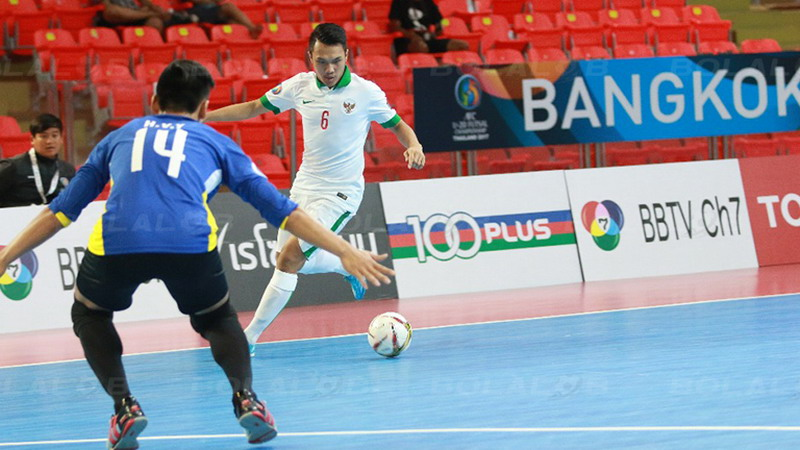Samuel Eko bawa Indonesia ke perempatfinal. (Foto: Bolalob)