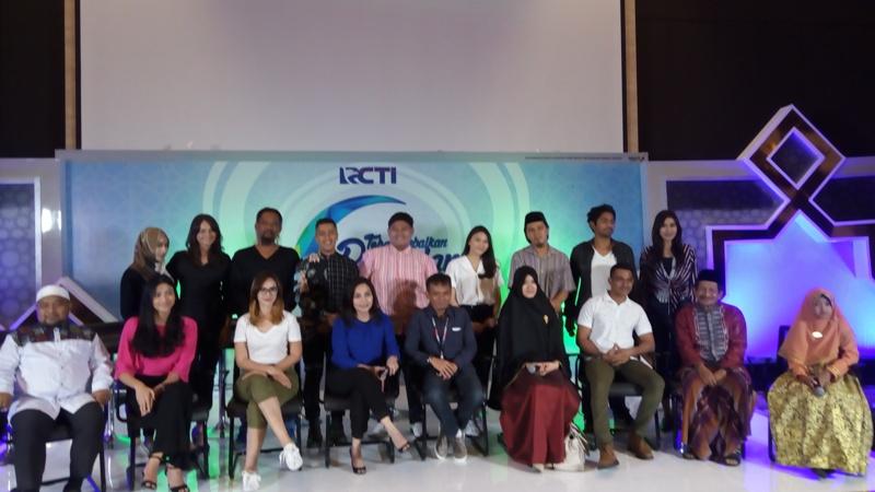 Pihak RCTI saat jumpa pers (Foto Ria/Okezone)