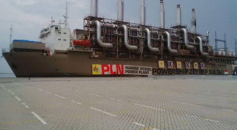 \Hore! Sumut Dapat Tambahan 240 Mw dari Kapal Listrik Turki\