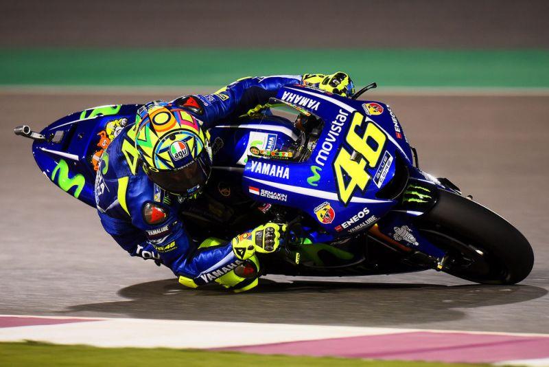 Pembalap Tim Movistar Yamaha, Valentino Rossi (Foto: Sport Rider)