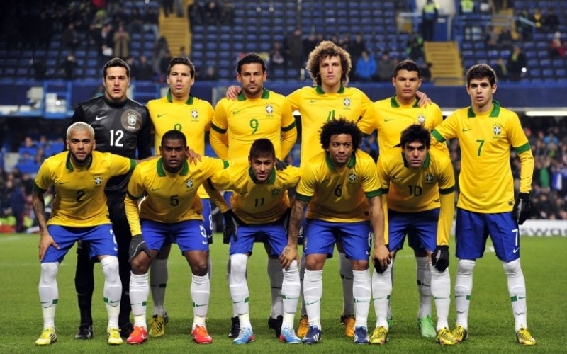Timnas Brasil (Foto: AFP)