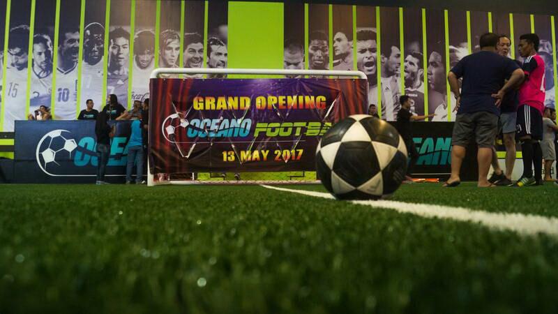 Grand Opening Oceano Footbal (Foto: Pantai Mutiara Sports Club)