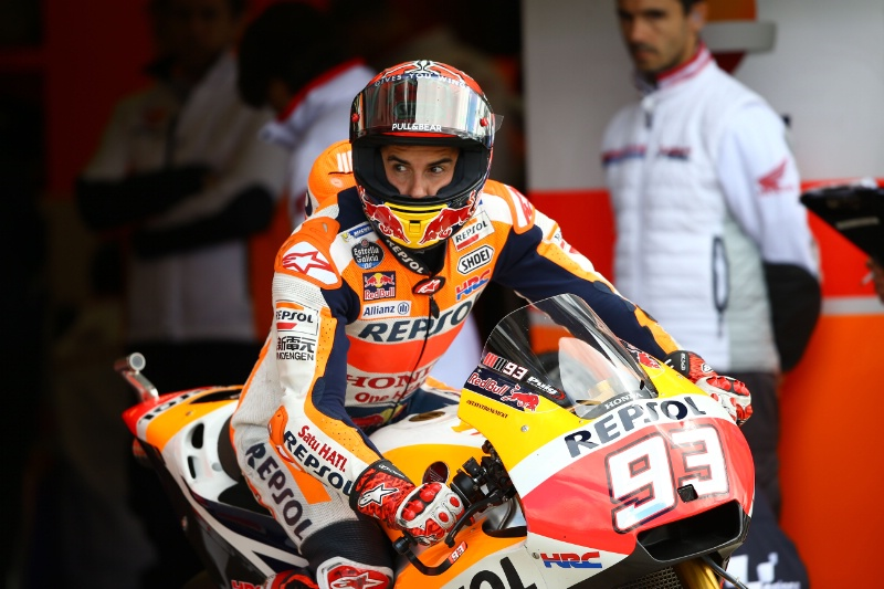 Pembalap Tim Repsol Honda, Marc Marquez (Foto: Crash.net)
