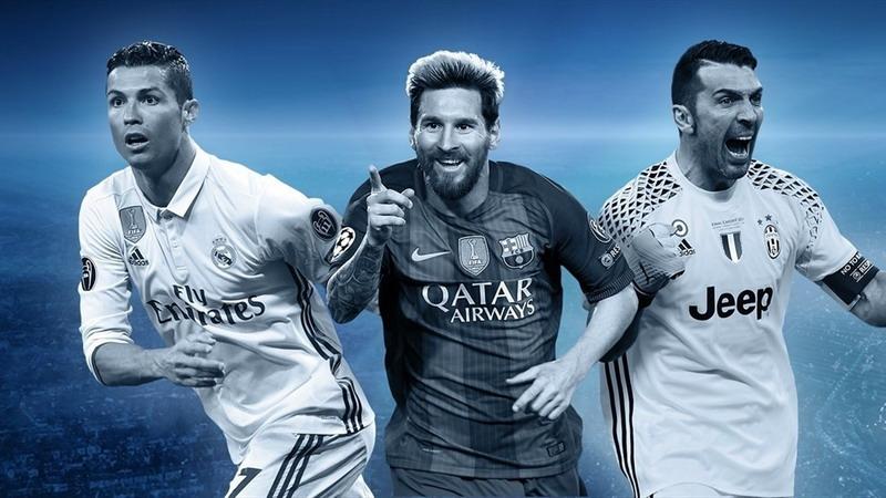 Ronaldo, Messi dan Buffon masuk skuad terbaik Liga Champions 2016-2017. (Foto: UEFA.com)