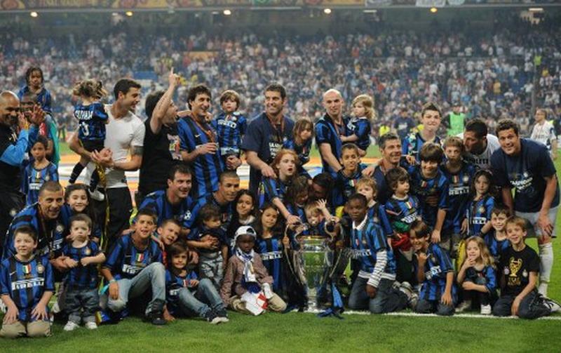 Inter Milan saat menjuarai Liga Champions 2009-2010. (Foto: Christophe Simon)